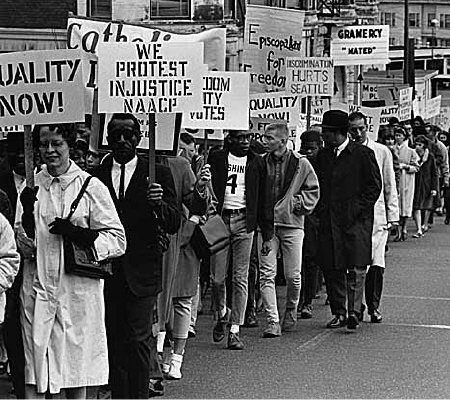 the prejudice of society against african americans and their role in advertising Civil rights and social reform, 1950s-1970s  african americans began to mobilize in earnest  usurping the role of traditional civil rights politics that.