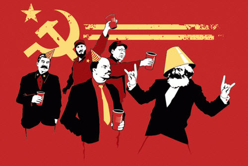 First bug to report. Already. Communist_party_t-shirt
